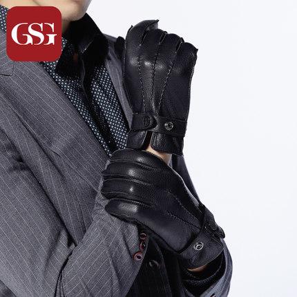 GSG男士魅力鹿皮手套