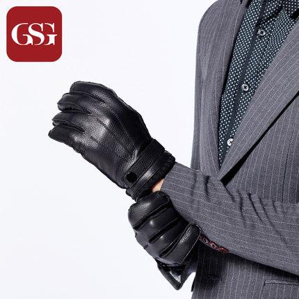 GSG男鹿皮休闲保暖手套