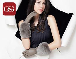 GSG女士长款真皮手套