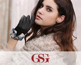 GSG女士经典款真皮手套
